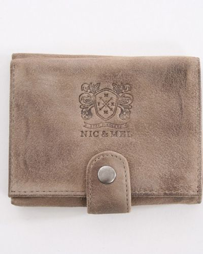 Cash nubuck plånbok Nic & Mel ONE SIZE - Nic & Mel - Plånböcker