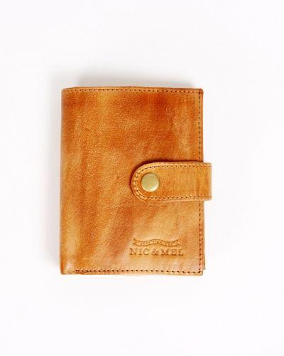 Jason cognac plånbok Nic & Mel ONE SIZE - Nic & Mel - Plånböcker