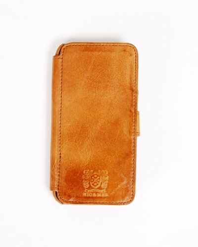 Stewart bookcase Iphone 5 cognac Nic & Mel ONE SIZE från Nic & Mel, Telefonväskor