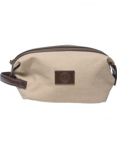 Saddler 10915 Canvas Wash Bag Khaki