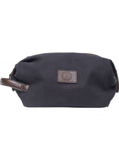 Saddler 10915 Canvas Wash Bag Navy