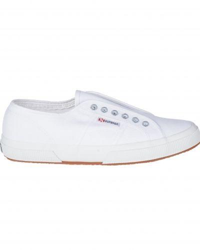 Till herr från Superga, en vit sneakers.
