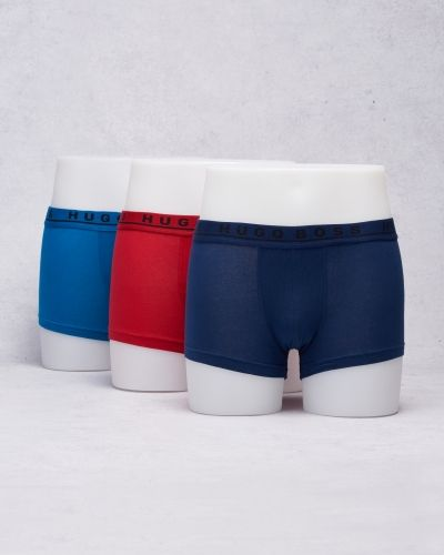 Hugo Boss 3-pack Trunk 983 Red/Cobolt/Blue