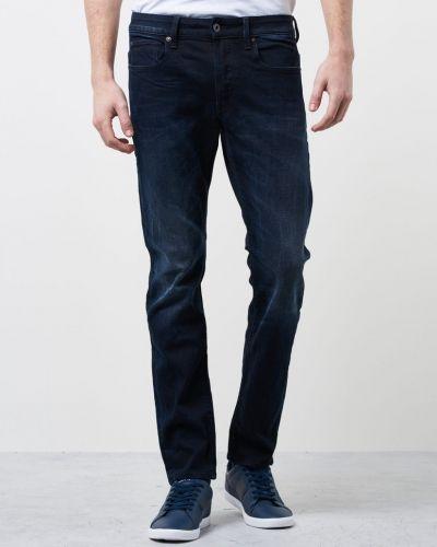 3301 Slim Siro Black Stretch G-Star blandade jeans till herr.