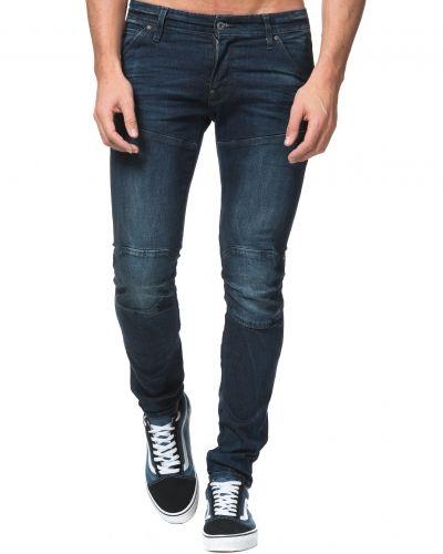 Till herr från G-Star, en blå blandade jeans.