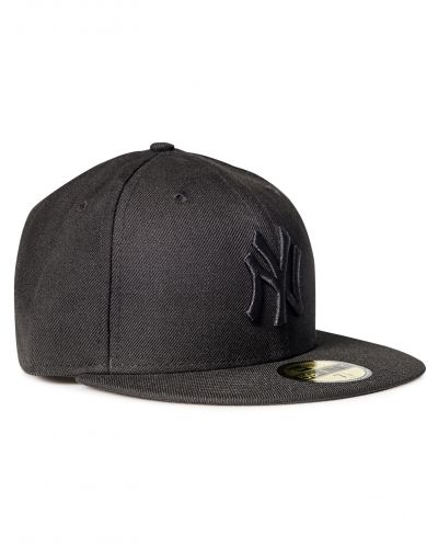 59 Fifty MLB Basic Black On Black Yankee New Era keps till unisex/Ospec..
