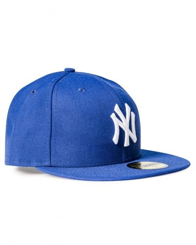 Keps 59 Fifty MLB Basic NY Yankees Royal Optical White från New Era