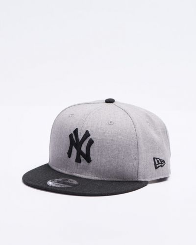9 Fifty New York Yankees Heather New Era keps till unisex/Ospec..