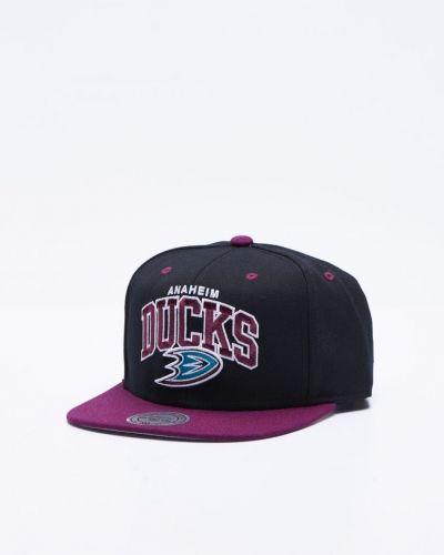 Anaheim Ducks Snapback Mitchell & Ness keps till unisex/Ospec..