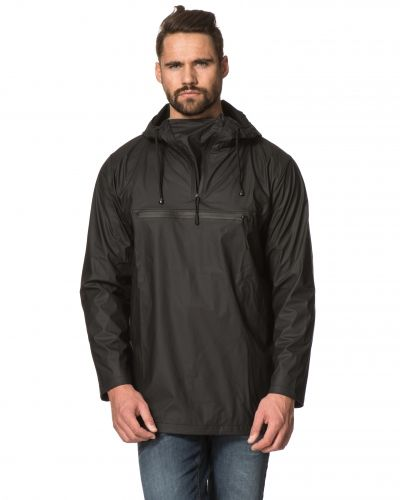 Rains Anorak Black