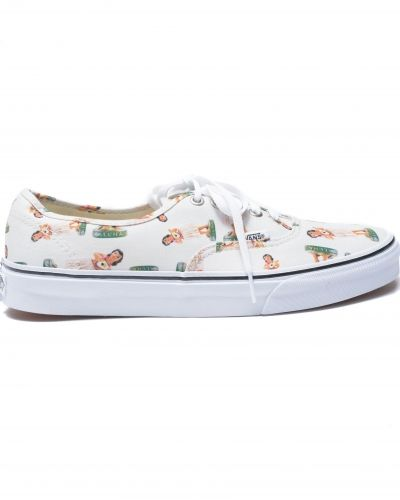 Vans Authentic Digi Hula Classic White