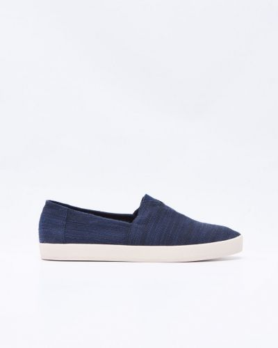 Sneakers Avalon Slip on Navy Slub Linnen från TOMS