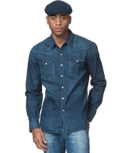 Levis Barstow Western Laundered Dark