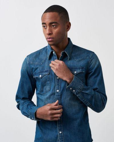 Jeansskjorta Barstow Western Shirt Sandy Tint från Levis