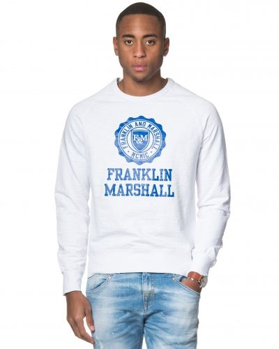 Franklin & Marshall Basic Fleece Sweat White
