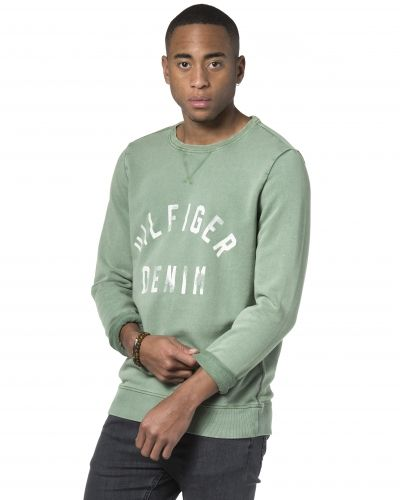 Hilfiger Denim Basic Logo Sweat 378 Green