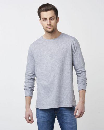 Grå långärmad tröja från William Baxter till herr.