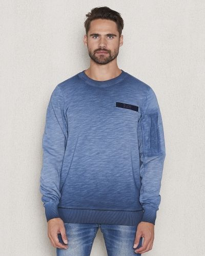 Sweatshirts Beatt Sweat Saru Blue från G-Star