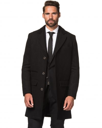 Savvy Citizen Ben Coat Black