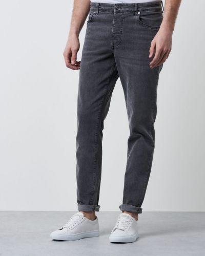 Grå jeans från Minimum till herr.