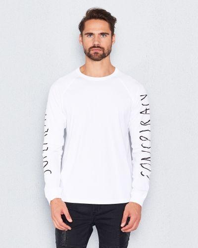 Långärmad tröja Bente l/s t-shirt white från WeSC