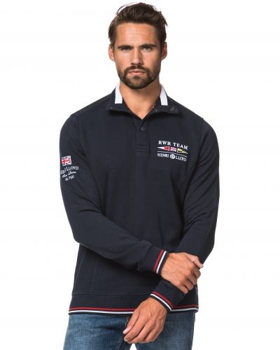 Henri Lloyd Blore Halfbotton Sweat Navy