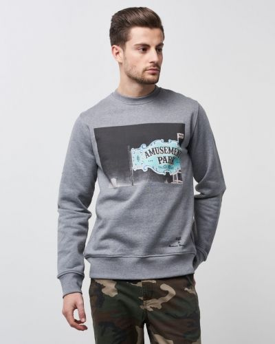 Blowing The Green Trumpet Grey WeSC sweatshirts till killar.