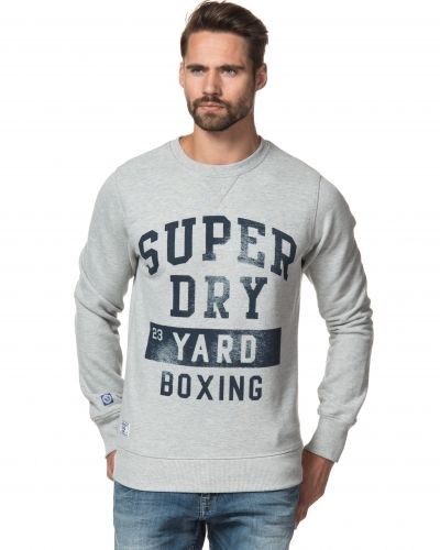 Superdry Boxing Yard Crew VDG Vintage Grey