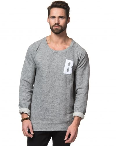 William Baxter Bradley Sweater Grey Melange