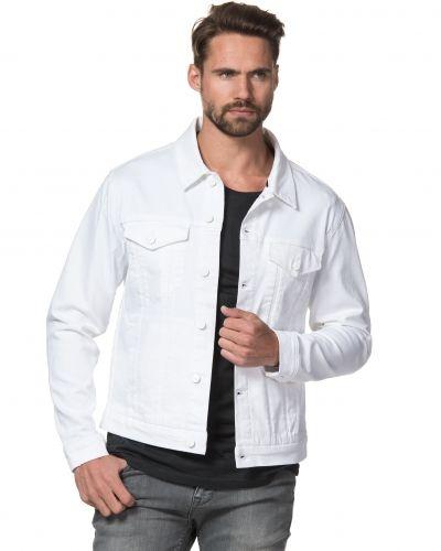 Till herr från Calvin Klein Jeans, en vit jeansjacka.