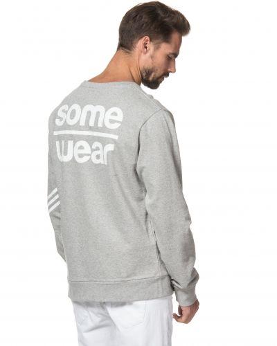 Grå sweatshirts från Somewear till killar.