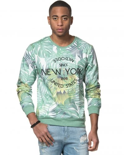 Speechless Brooklyn Printed Sweatshirt