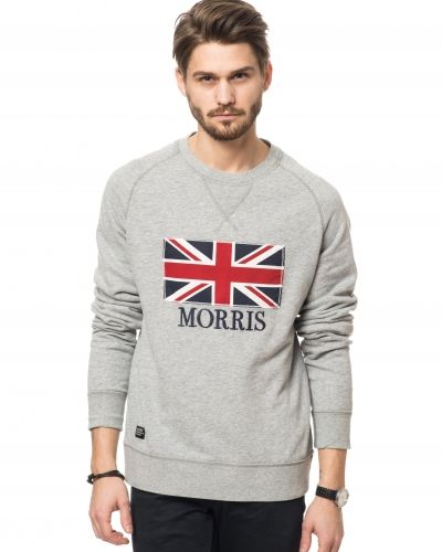 Morris Cambridge Sweatshirt Light Grey