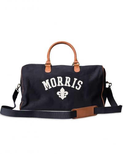 Morris Canvas Weekendbag Navy