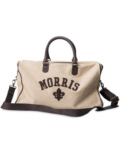 Morris Canvas Weekendbag Sand