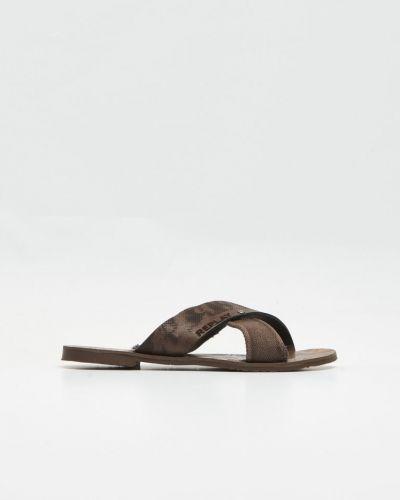 Brun sandal från Replay till herr.