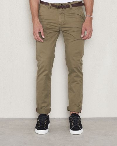 Chinos Chinos Belt Stretch Green från Dstrezzed