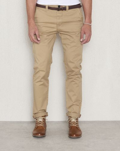 Dstrezzed Chinos Belt Stretch Khaki