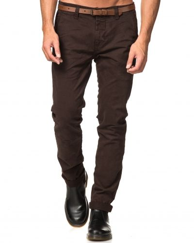 Dstrezzed Chinos With Belt Brown