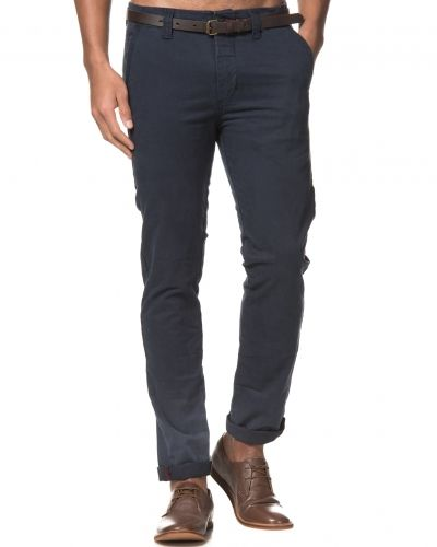 Dstrezzed Chinos With Belt Dark Navy