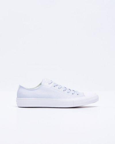 Metallicfärgad sneakers från Converse till herr.