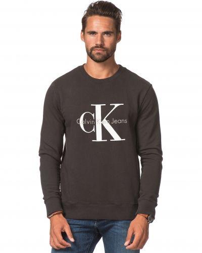 Till killar från Calvin Klein Jeans, en sweatshirts.