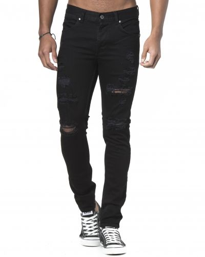 Dr.Denim Clark Slim Tapered Black Riped
