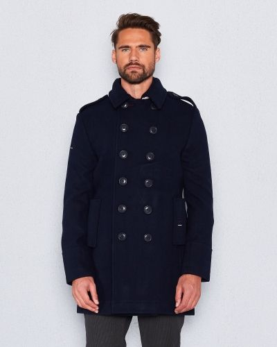Classic Bridge Coat Superdry rock till herr.