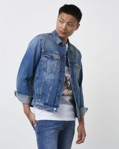 Till herr från Calvin Klein Jeans, en jeansjacka.