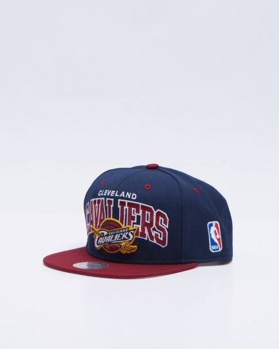 Cleveland Cavliers Snapback Mitchell & Ness keps till unisex/Ospec..