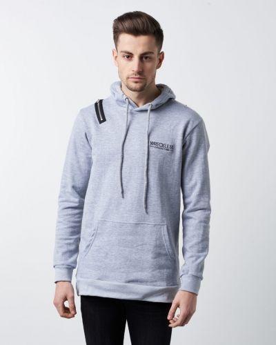 Grå hoodie från Wreckless till herr.