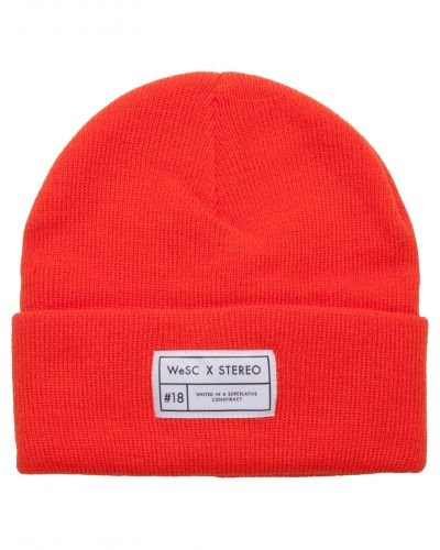 WeSC Collabo Beanie Knitted Red