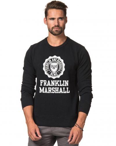 Sweatshirts College Crew Neck Original Black från Franklin & Marshall