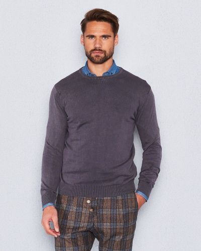 Castor by Castor Pollux Cottonius Brown Sweater Stonewashed
